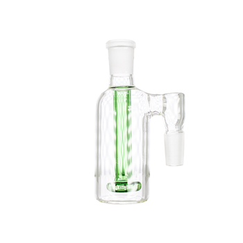 Ash Catcher with Shower Head Perc 90 Degree 14mm Male - Green