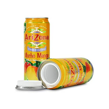 Arizona Diversion Safe Home Security Hidden Stash Can Protect Valuables -Mucho Mango - 24oz