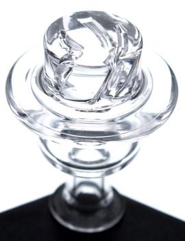 On Point Glass Round Bottom Splash Guard Ruby Terp 14mm Male 45 Degree Banger Box Set