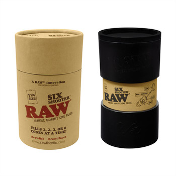 RAW® - Six Shooter - 1 1/4 Size Variable Quantity Cone Filler