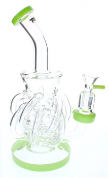 Green Multi-Tenti Water Pipe