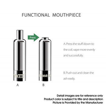Yocan Evolve-D Dry Herb Vape Pen Kit 2020 Edition - Black