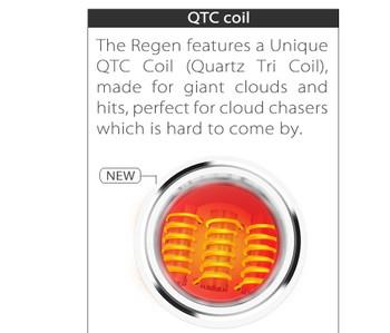 Yocan Regen Quartz Tri Coil
