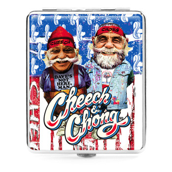 Cheech and Chong Deluxe Cigarette case 85mm U S A