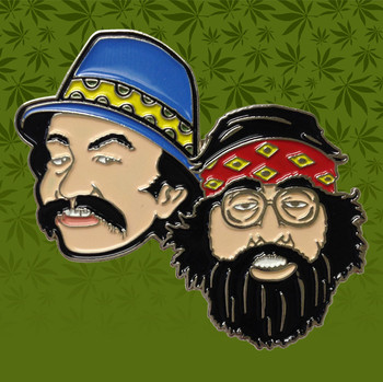 Cheech & Chong Icon Hat Pin