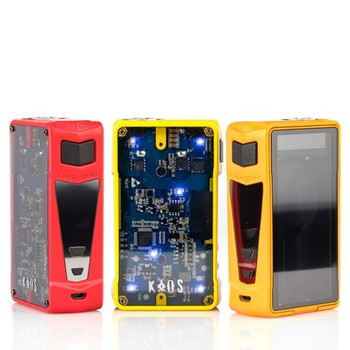 Groupon Sigelei KAOS Z 200W TC Box Mod Submission: Discounted Accessory Options