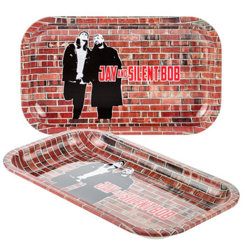 Jay and Silent Bob Rolling Tray | Medium | Brick Wall