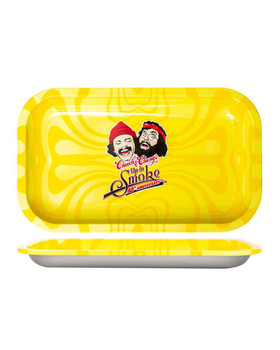 40TH ANNIVERSARY CHEECH & CHONG YELLOW TRAY - Medium