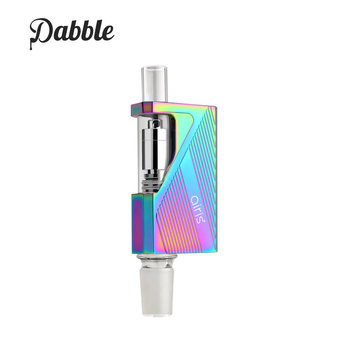 Airis Dabble 2-in-1 Portable E-nail and Wax Vape Pen Device (Rainbow)
