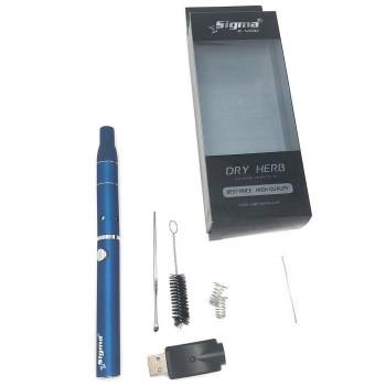 Sigma EVOD Dry Herb Vaporizer Blue