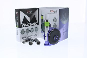 Lookah Snail Wax Concentrates Vape Kit - Purple