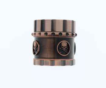 41mm 4 Level Skull Gold Grinder