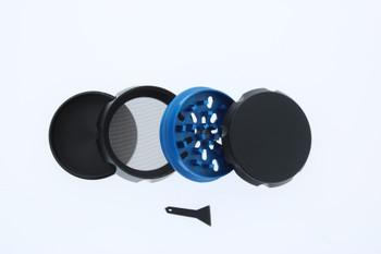 23mm 4 Level Blue & Black Large Grinder