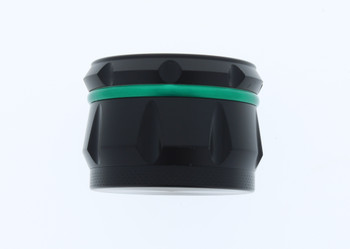 23mm 4 Level Green & Black Large Grinder