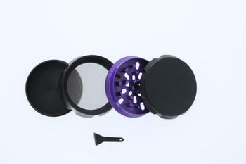 23mm 4 Level Purple & Black Large Grinder
