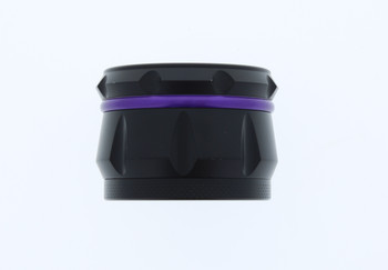 23mm 4 Level Purple & Black Large Grinder