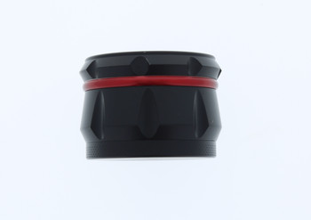 23mm 4 Level Red & Black Large Grinder