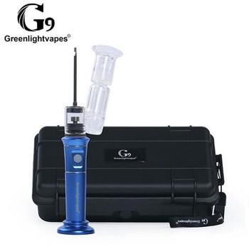 G9 Henail Plus Portable E-Nail Vaporizer - Blue