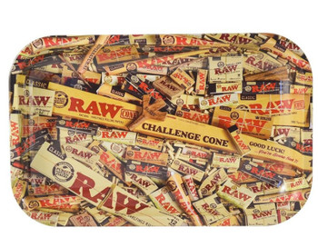 RAW Rolling Challenge Cone Tray - 11 x 7
