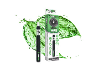 VapeBrat Disposable Nicotine Free Pen: Hint of Green