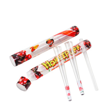 HoneyPuff Pre-Rolled Transparent King Size Cones - Cherry