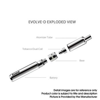 Yocan Evolve-D Dry Herb Vape Pen Kit 2020 Edition - Sakura Pink