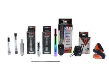 K.I.S.S. Pen 3 in 1 Vaporizer Kit (Oil, Juice & Wax Tanks) - Rainbow