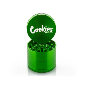 Cookies Large 4 Level Grinder 62mm Green