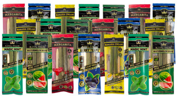 King Palm Mini Wraps 2 Pack Cordia Leaf Rolling Papers - 20 Pack
