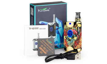 KangVape TH-420II Box Vaporizer Kit from Hookah Town - Skull