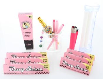 Blazy Susan - Blazy Pink Rolling Kit (10 Piece Gift Kit)