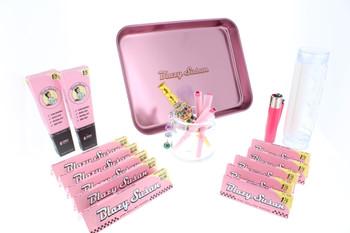 Blazy Susan - Blazy Pink Rolling Kit (16 Piece Gift Kit)