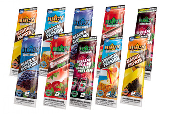 Juicy Jays Flavored Wraps Variety Packs - 15 Pack