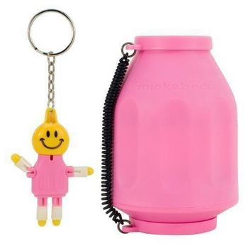 The Original SmokeBuddy Personal Air Odor Purifier Cleaner Filter with Keychain -  Pink
