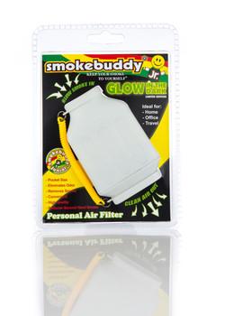 SmokeBuddy Jr Personal Smoke Air Filter - White Glow in the Dark