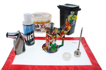 Silicone Dab Rig Waterpipe Full Dabbing Kit