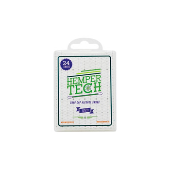 Hemper Tech - 24ct Snap Cap Alcohol Swabs