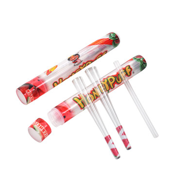 HoneyPuff Pre-Rolled Transparent 1 1/4 Size Cones - Watermelon