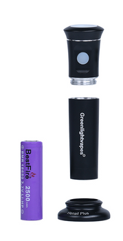 Greenlight Vapes G9 Henail Plus 2500mAh Li-ion Battery