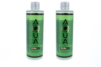 Aqua Glass Works Cleaning Solution 16oz with Salt 2 Pack