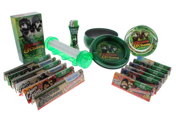 Cheech & Chong Rolling Papers with Accessories Holiday Gift Kit - Refections