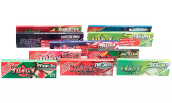 Juicy Tobacco Rolling Papers Mix 10 Pack