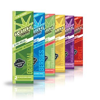 Kush Wraps 25 Pack Variety