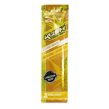 Kush Wraps Herbal Wraps 2 Per Pack - Lemonade