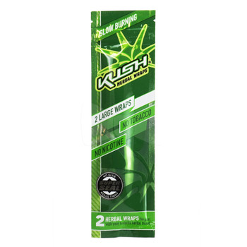 Kush Wraps Herbal Wraps 2 Per Pack - Original
