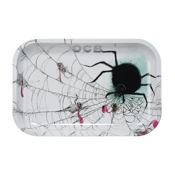 "OCB Rolling Tray - 7.4"" x 11.4"" Spider"
