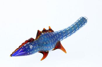 Blue Lizard Glass Pipe