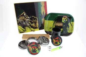 Rasta - Stash Box Kit - 6 Piece Gift Set