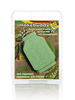 SmokeBuddy Jr Personal Smoke Air Filter - Green ECO