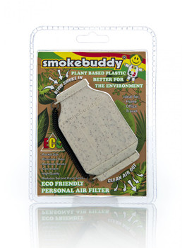 SmokeBuddy Jr Personal Smoke Air Filter - White ECO